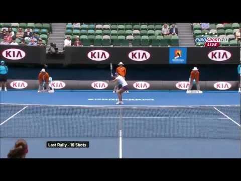 [FULL HD] Radwanska - Li-Na Australian Open 2013 - 1080p