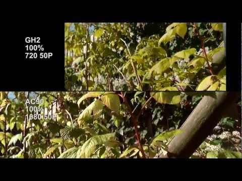 AG-AC90 vs GH2 or buy GH3? Video camera test. compare lowlight. focus. sensor. motion. slowmo