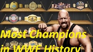 The 16 most decorated champions in WWE history