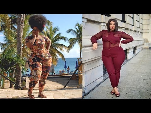 Plus Size Jumpsuits Fashion||Plus Size Women Fashion Tips