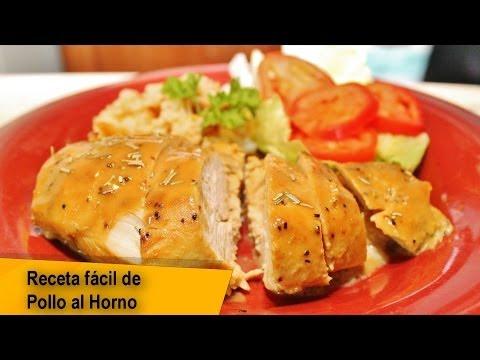 Pechugas de pollo al horno receta facil youtube - Como cocinar pollo al horno ...