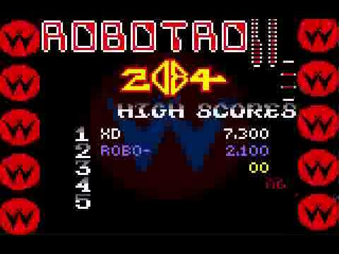 Robotron 2084 - Lynx Gameplay - Robotron 2084 - User video