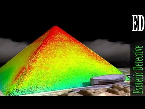 Strange anomaly found in thermal scan of Giza pyramids