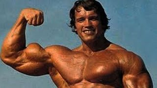 Rare Footage of Arnold Schwarzenegger Training Back and Chest at Golds Gym Venice