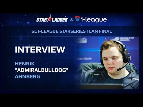 SL i-League 13 Interview: AdmiralBulldog (RU SUB)