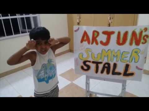 Arjun's summer activity  May 2016 - KC High (CC)