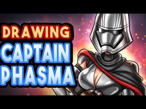 CARHOO Draws Captain Phasma