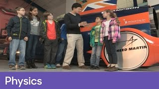 Why doesn't Bloodhound SSC have tyres? | Physics - The Bloodhound Adventure