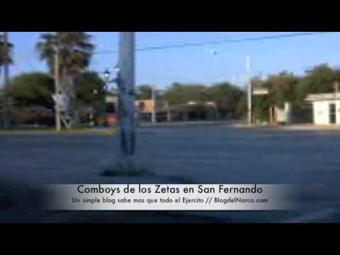 Comboy de los Zetas en San Fernando