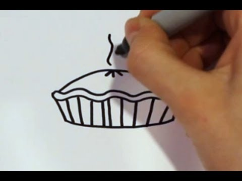 Apple Cake Drawing