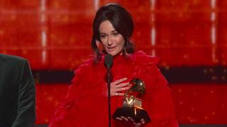 Kacey Musgraves Wins Best Country Album 2019 Grammys