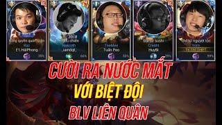 Khi Full Team BLV Dùng Não Leo Rank - Thanh Tùng Và Tuấn Peo Carry All