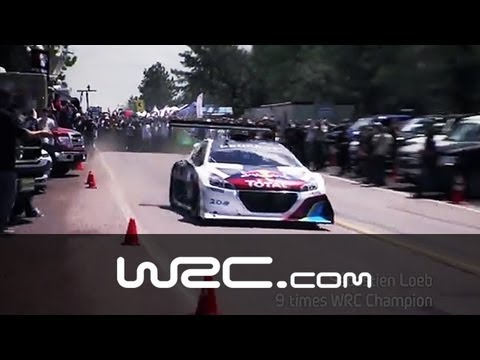 Sébastien Loeb´s World Record @ Pikes Peak 2013!