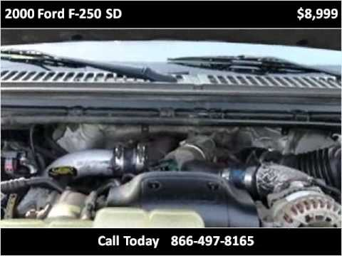 2000 Ford F-250 SD Used Cars Bridgeport WV