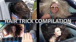 HAIR TRICK COMPILATION | CAR AUDIO BASS TRICKS