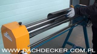 Sheet Metal Roller Rolling Machine MOTOR Вальцы ручные, Rundbiegemaschine, Rouleuse, Zakružovačka
