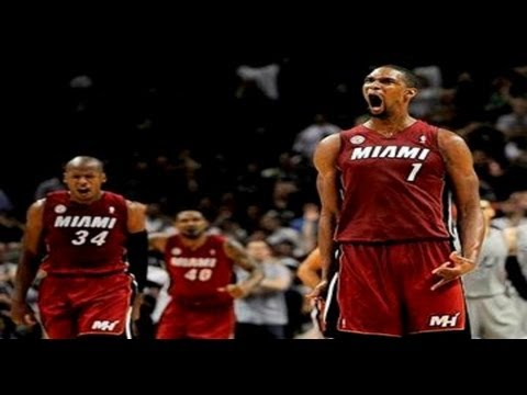 Chris Bosh Game-Winning Three vs. Spurs | March 31, 2013