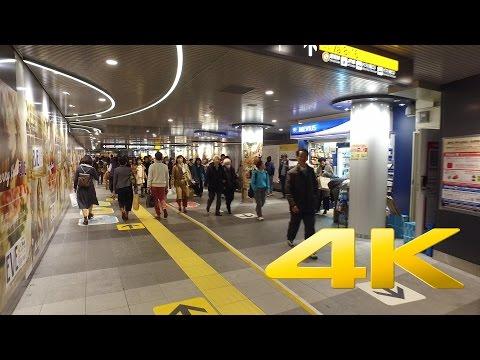 Walking around Shibuya Chikamichi - Tokyo - 渋谷ちかみち - 4K Ultra HD 🏙 🗼 🇯🇵