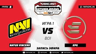 Natus Vincere vs EPG (карта 1), MC Autumn Brawl, Групповой этап