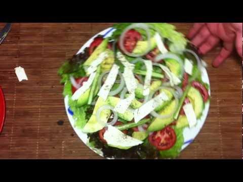Ensalada de aguacates - Comida sana y fácil