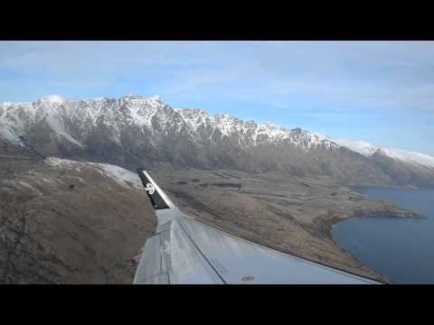 Flying out of Queenstown Airport