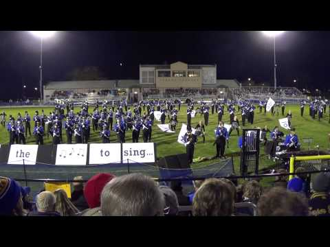 Oak Creek High School (Wisconsin) Marching Knights @ Cudahy Marching Band Invitational