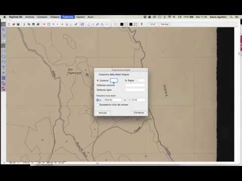 Calibrazione Mappa Catastale d'impianto