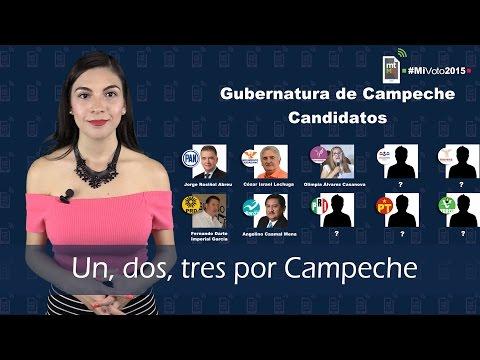 Un, dos, tres por Campeche
