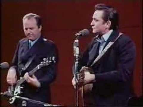 Johnny Cash - I Walk the Line at San Quentin Music Videos