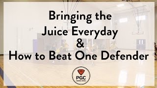 Bringing the Juice & How to Beat One Defender   Week 2   PGC Coaches Circle   Powered by TeamSnap