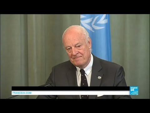 War in Syria: UN envoy de Mistura in Moscow for talks to salvage truce