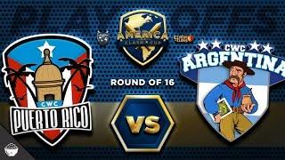 """OFICIAL Octavos de FINAL """"Puerto Rico vs Argentina"""" America Clash Cup"""