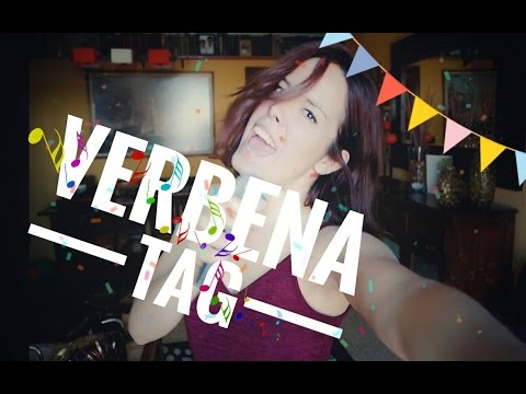VERBENA'S TAG | Sandra López