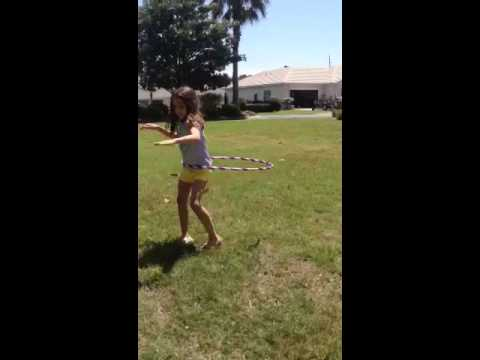 Butt shaking hula hoop!!