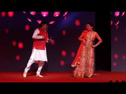 Beautiful Wedding Sangeet Couple Dance   Bollywood Punjabi Dance   Laung Da Lashkara