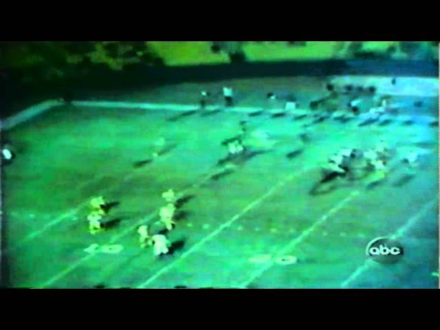 Flashback to Oregon-UCLA game 10-10-1970 during 1998 Oregon-UCLA game
