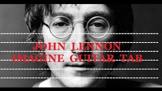 John Lennon - Imagine - Guitar Tab