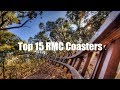 Top 15 RMC Coasters