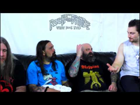 Down Interview at Rock On The Range 2012