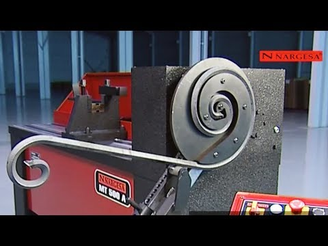 Part 2 - TORSIONADORA DE FORJA NARGESA MT500 A - SCROLL TWISTING MACHINE - MACHINE DE FORGE