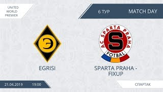 AFL19. United World. Premier. Day 6. Egrisi - Sparta Praha