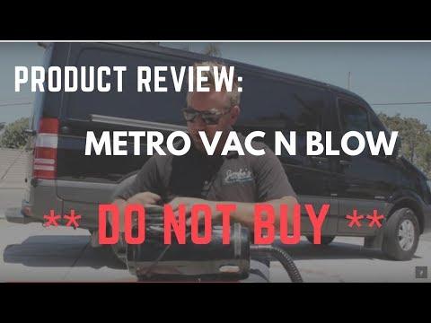 Product Review   Metro Vac N Blow Vacuum