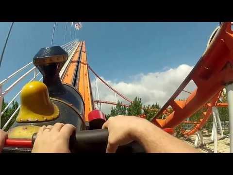 2013.05.12 ZOOMARINE – VERTIGO (MONTAGNE RUSSE) DAL VIVO 1 (Ripresa con GoPro Hero2)