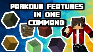 Parkour Features In One Command!