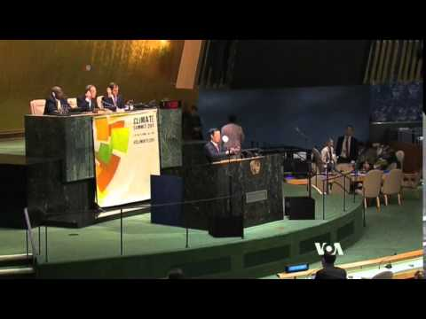 Obama Calls for World Action on Climate Change