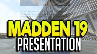 MADDEN NFL 19 PRESENTATION! NEW STADIUM EXTERIORS AND PRE GAME SHOW!!| MADDEN NFL 19