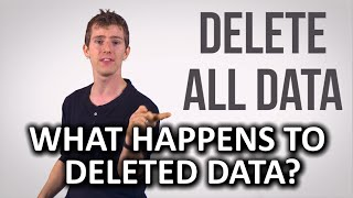 What Happens to Deleted Data as Fast As Possible