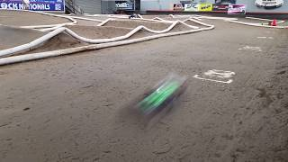 Fast R/C Buggies Practicing at OC RC Race Track in Huntington Beach, Orange County, CA