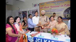 Karnal College Students Cyber Crime JCI Karnal Important Seminar Watch & Share