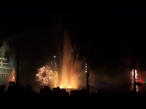 Fantasmic! 2013 at California Disneyland Park